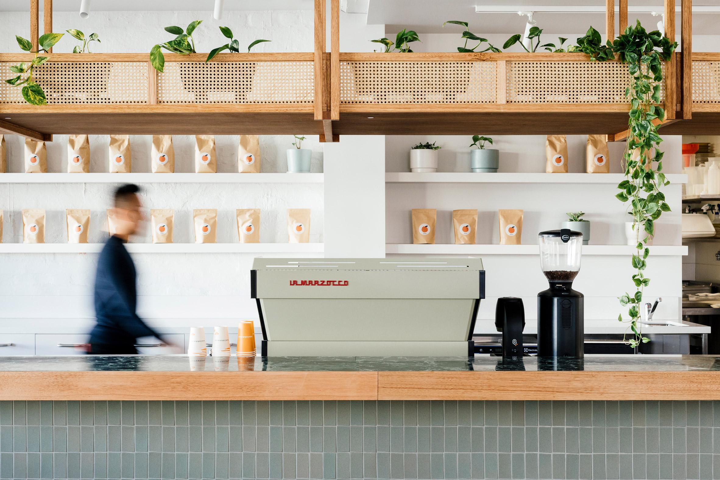 Thiết kế quán cafenhỏ đẹp 1