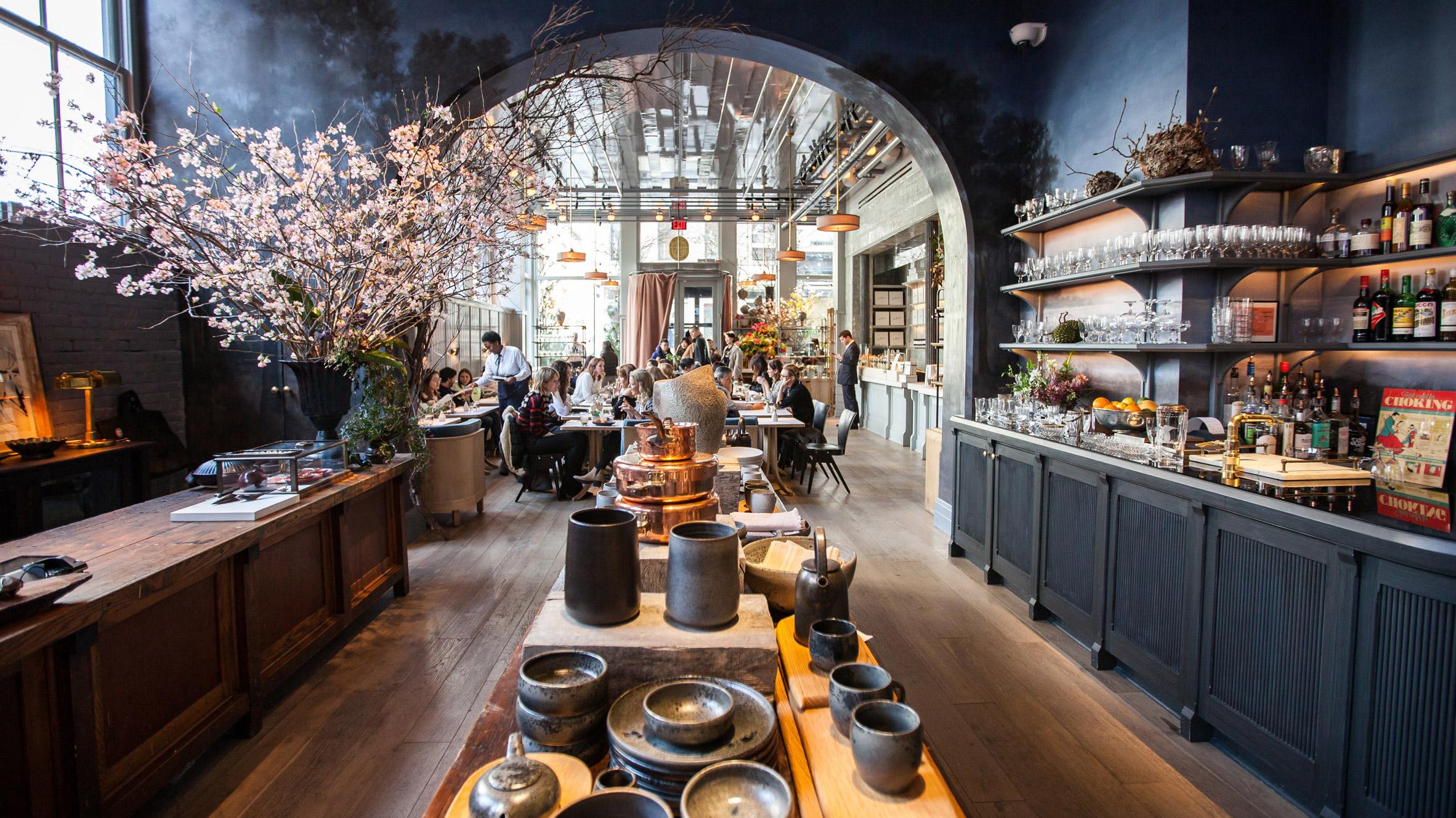 Thiết kế quán cafephong cách vintage