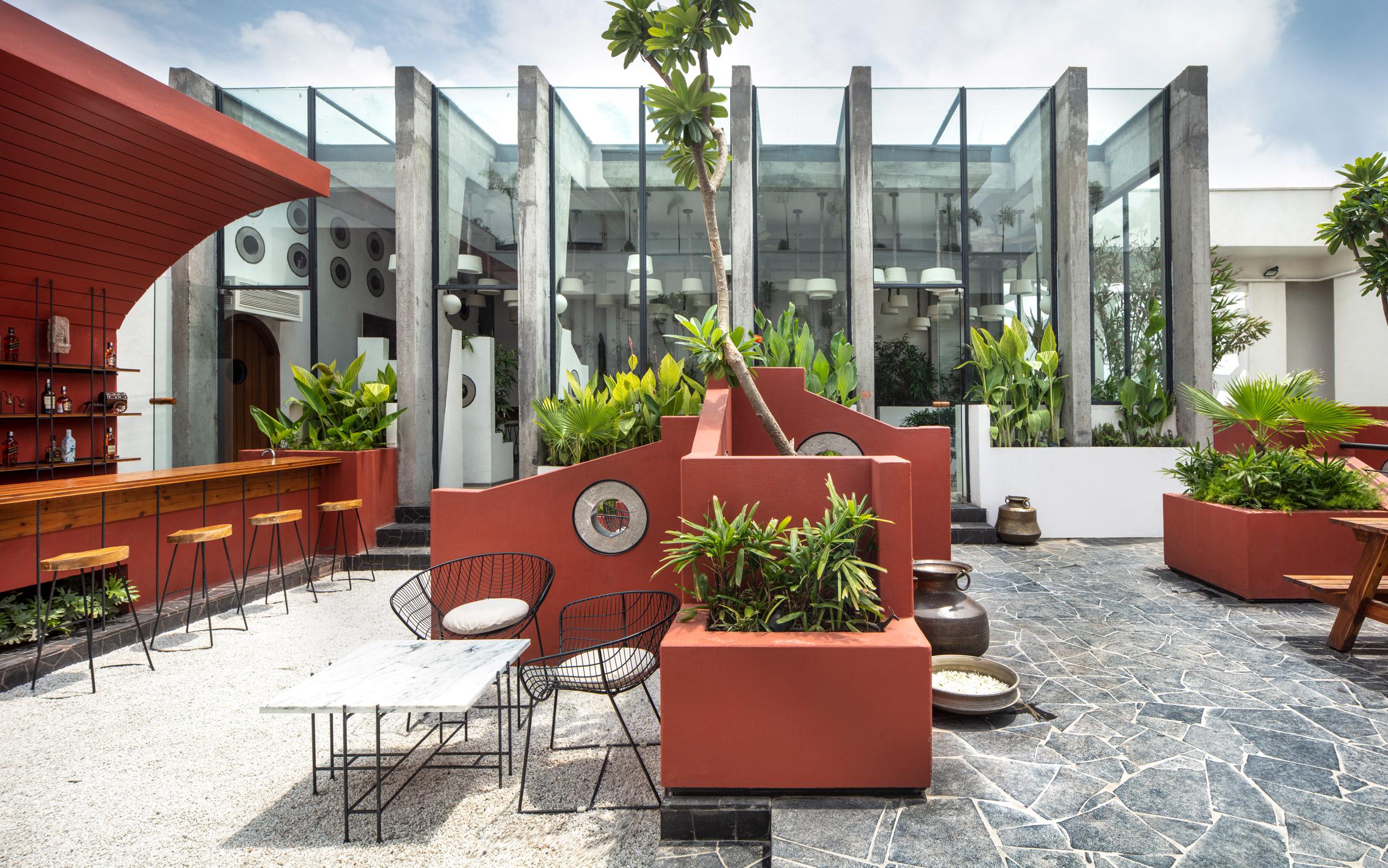 Thiết kế quán cafesân vườn