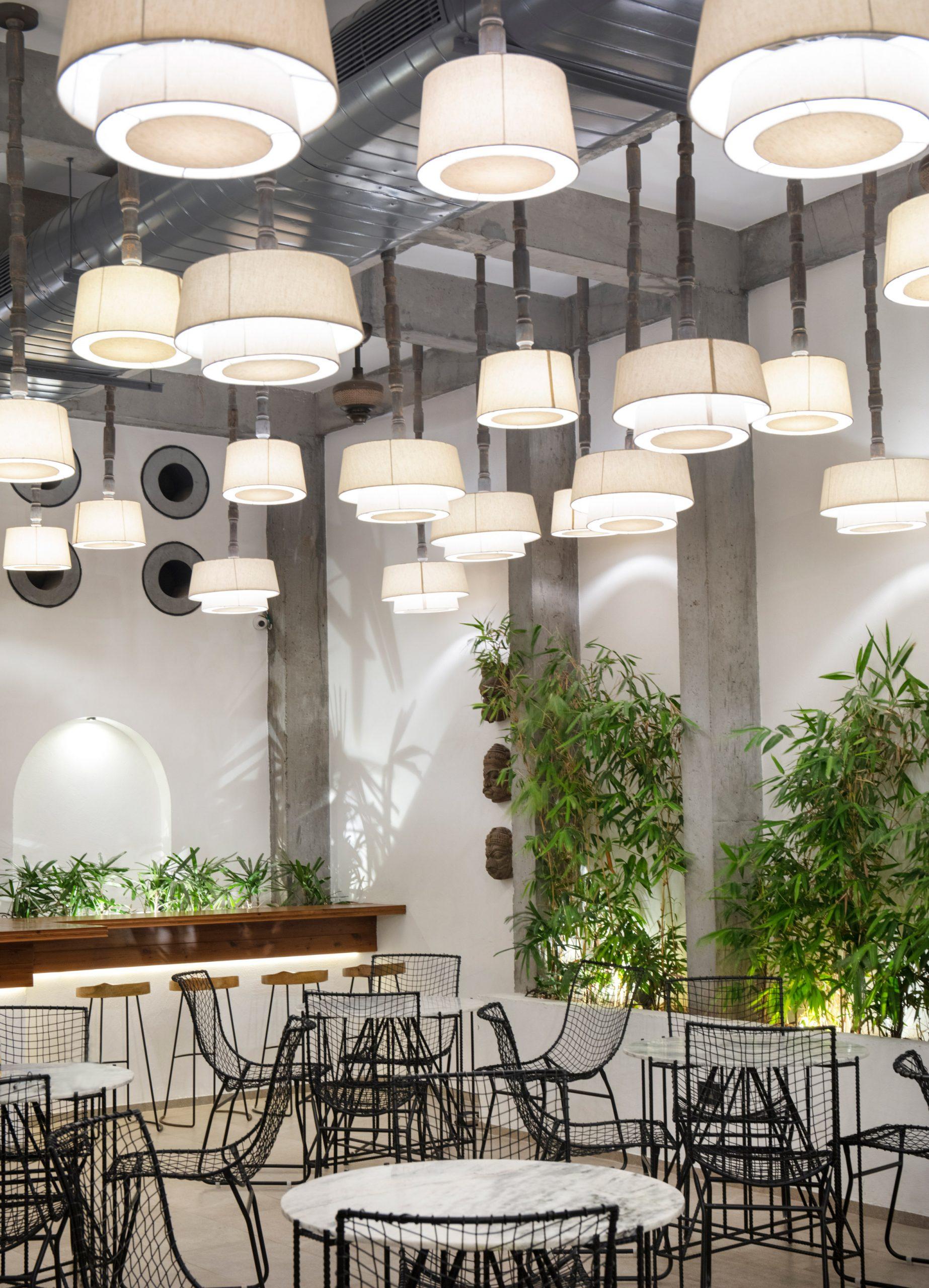 Thiết kế quán cafesân vườn 5