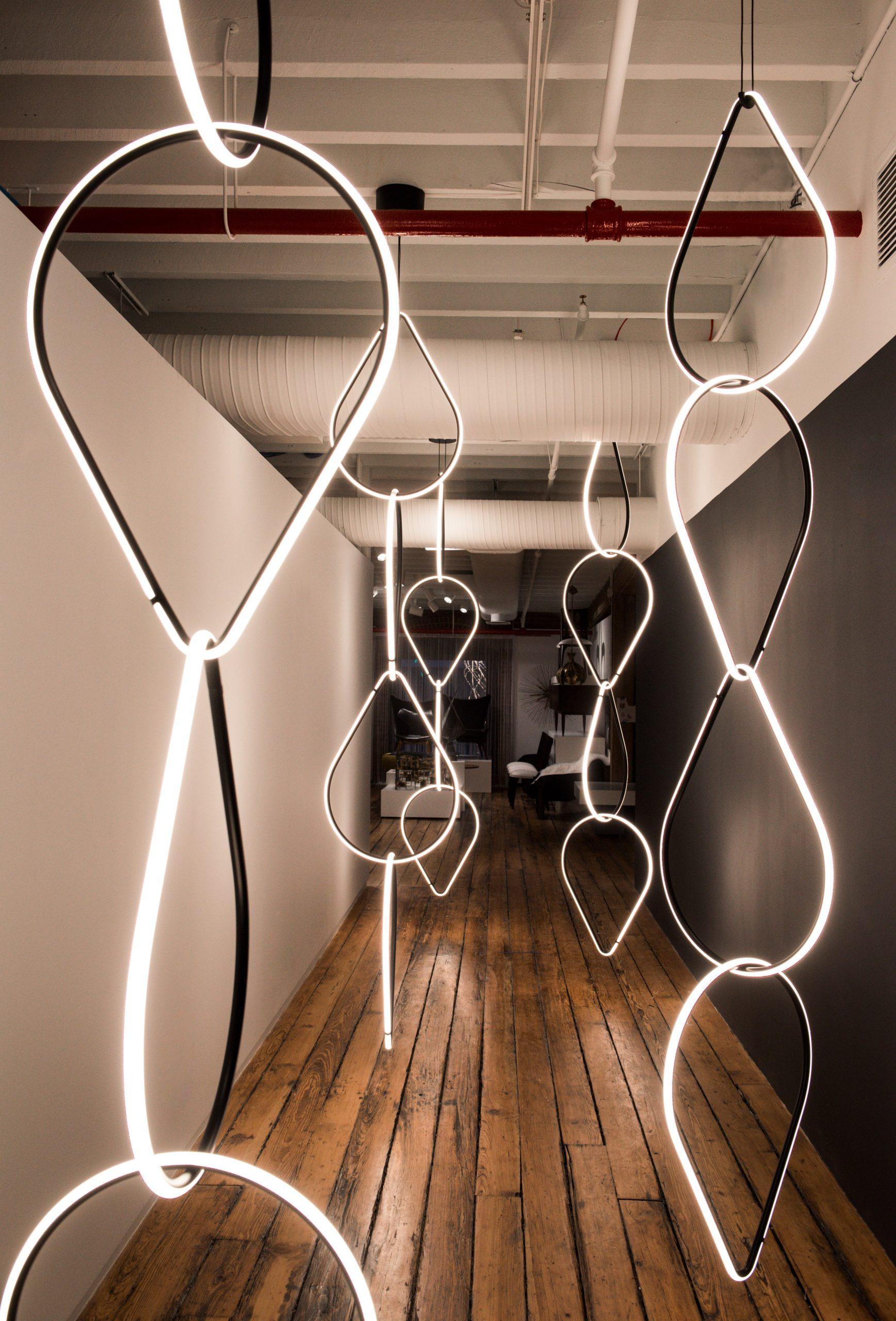 Thiết kế ánh sáng phòng khách 2