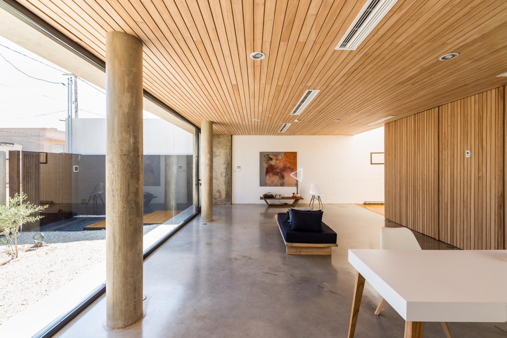 Mẫu nhà gỗ hiện đại 10