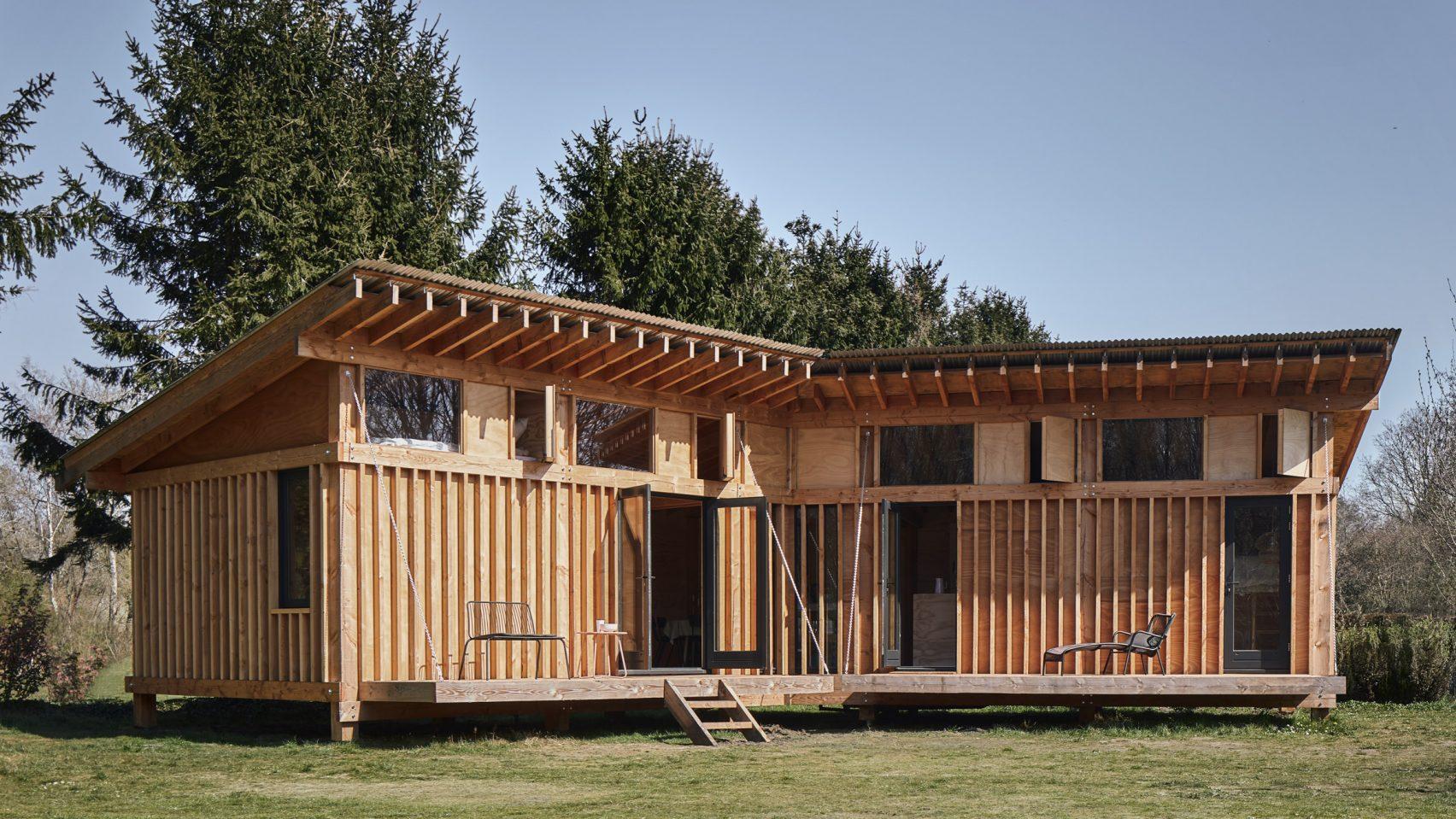 Mẫu nhà gỗ nhỏ đẹp