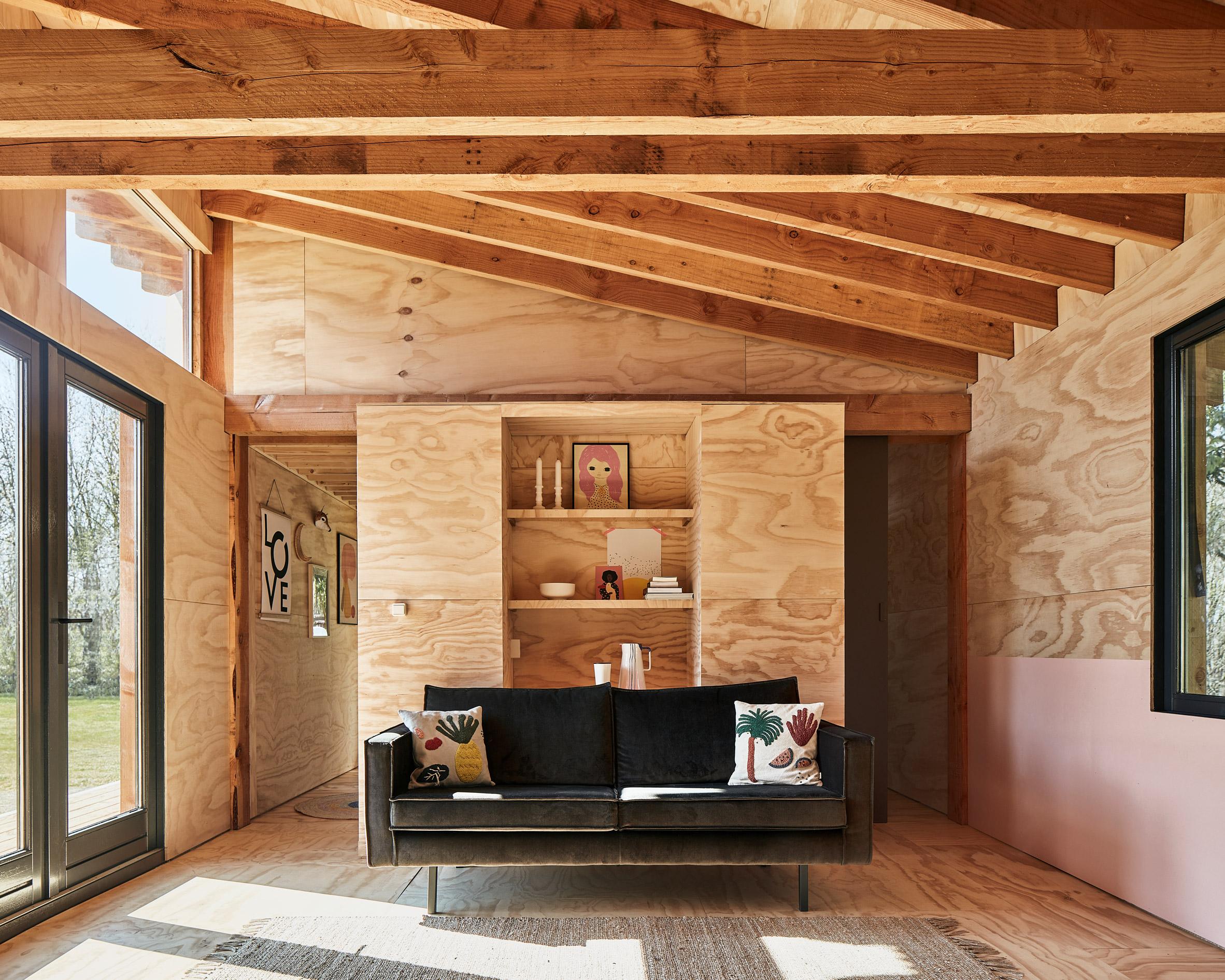 Mẫu nhà gỗ nhỏ đẹp 1