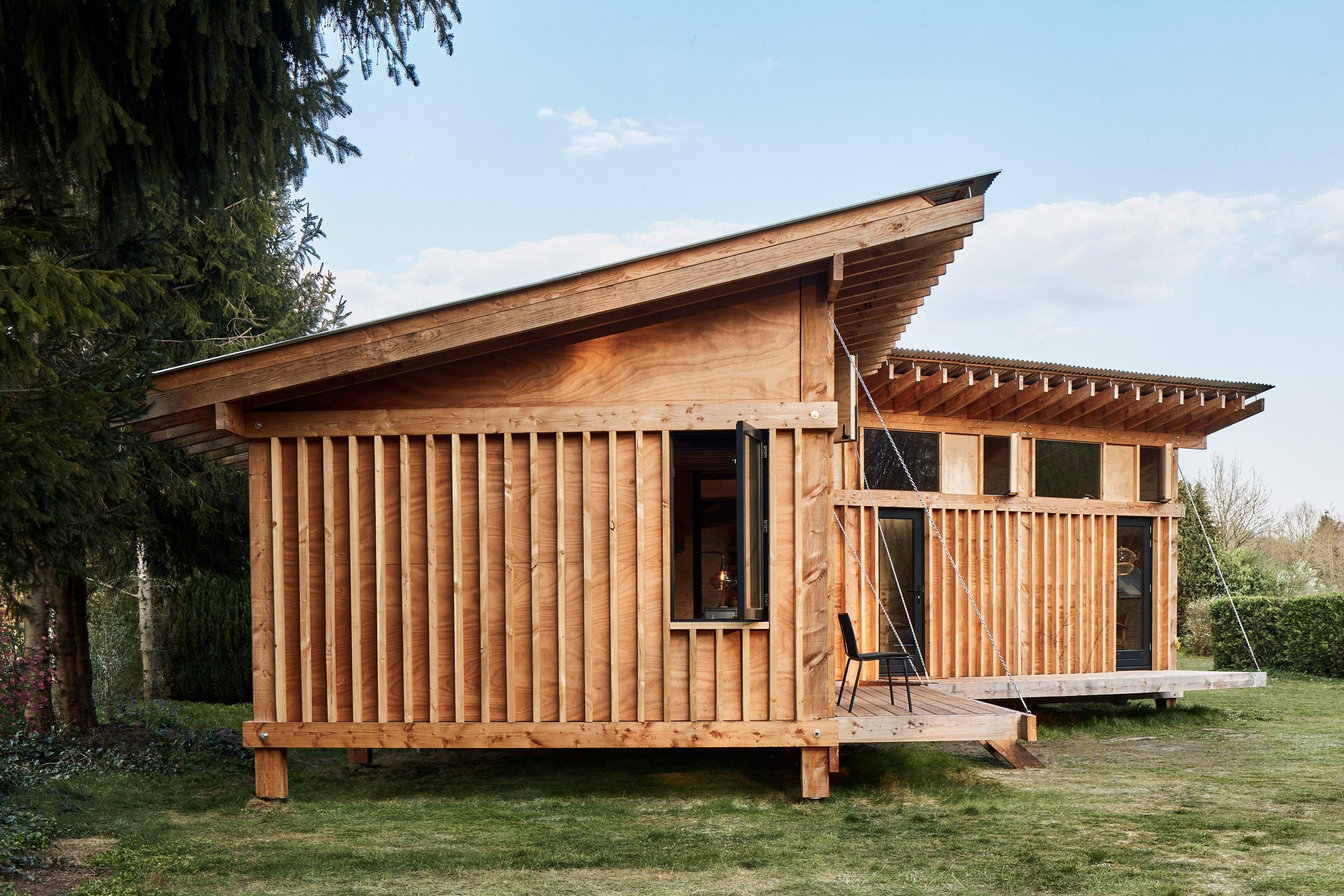 Mẫu nhà gỗ nhỏ đẹp 3