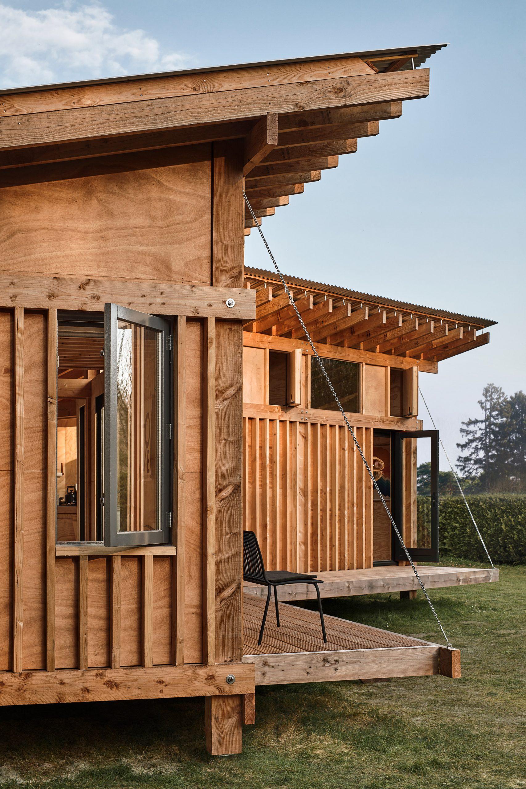 Mẫu nhà gỗ nhỏ đẹp 4