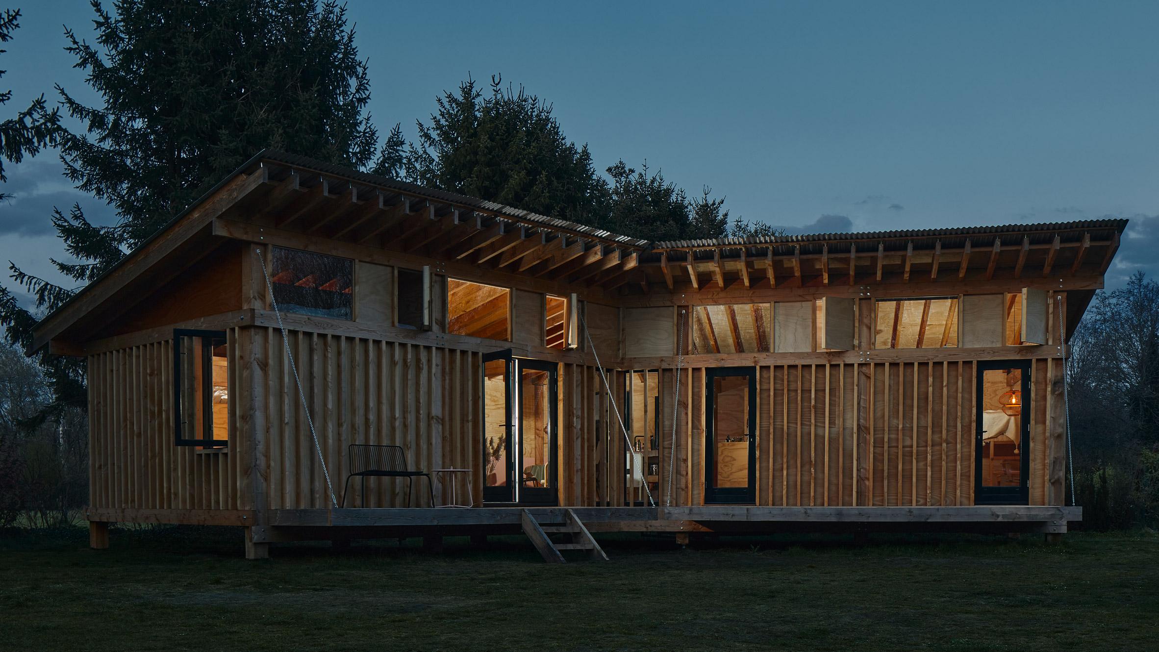 Mẫu nhà gỗ nhỏ đẹp 7