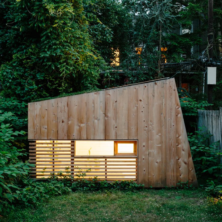 Mẫu nhà gỗ nhỏ 1