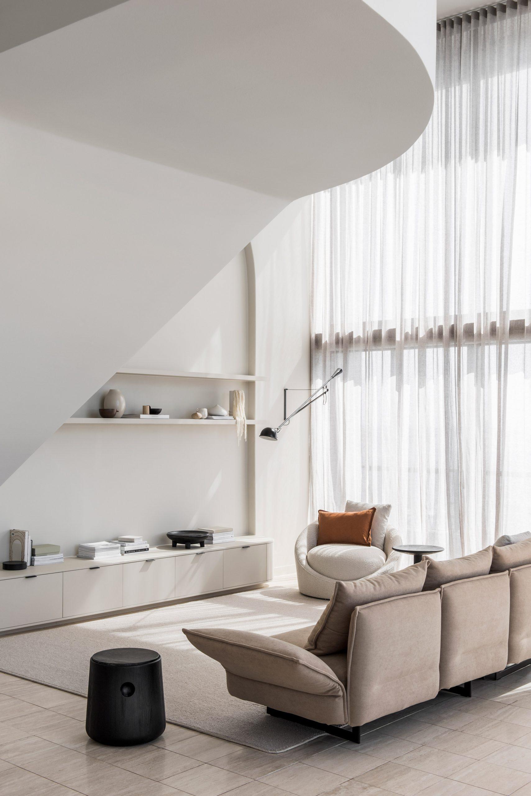 Mẫu phòng khách chung cư đẹp 16