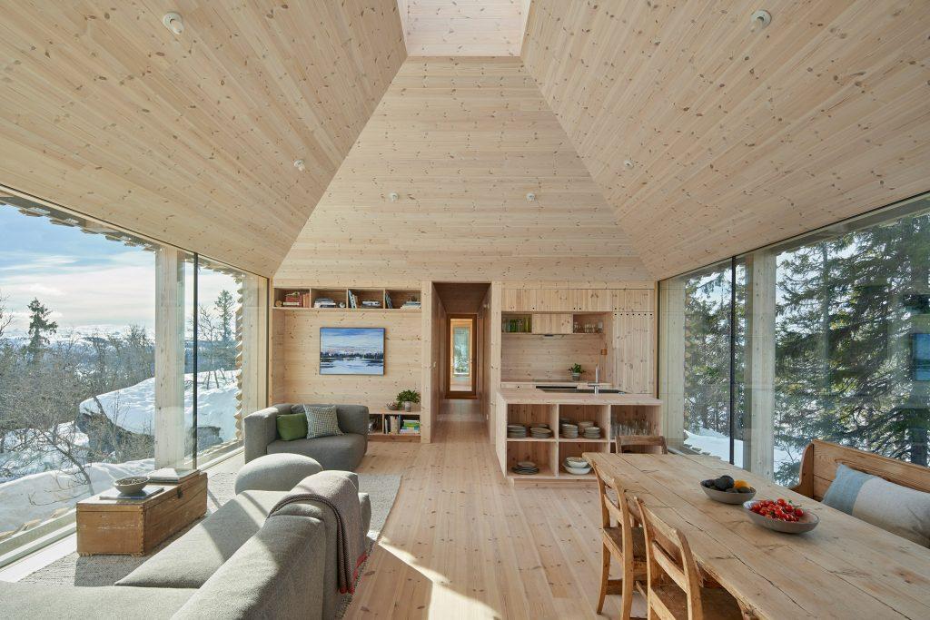 Nhà gỗ 3 gian đơn giản 8
