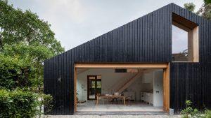 Nhà gỗ cấp 4 hiện đại