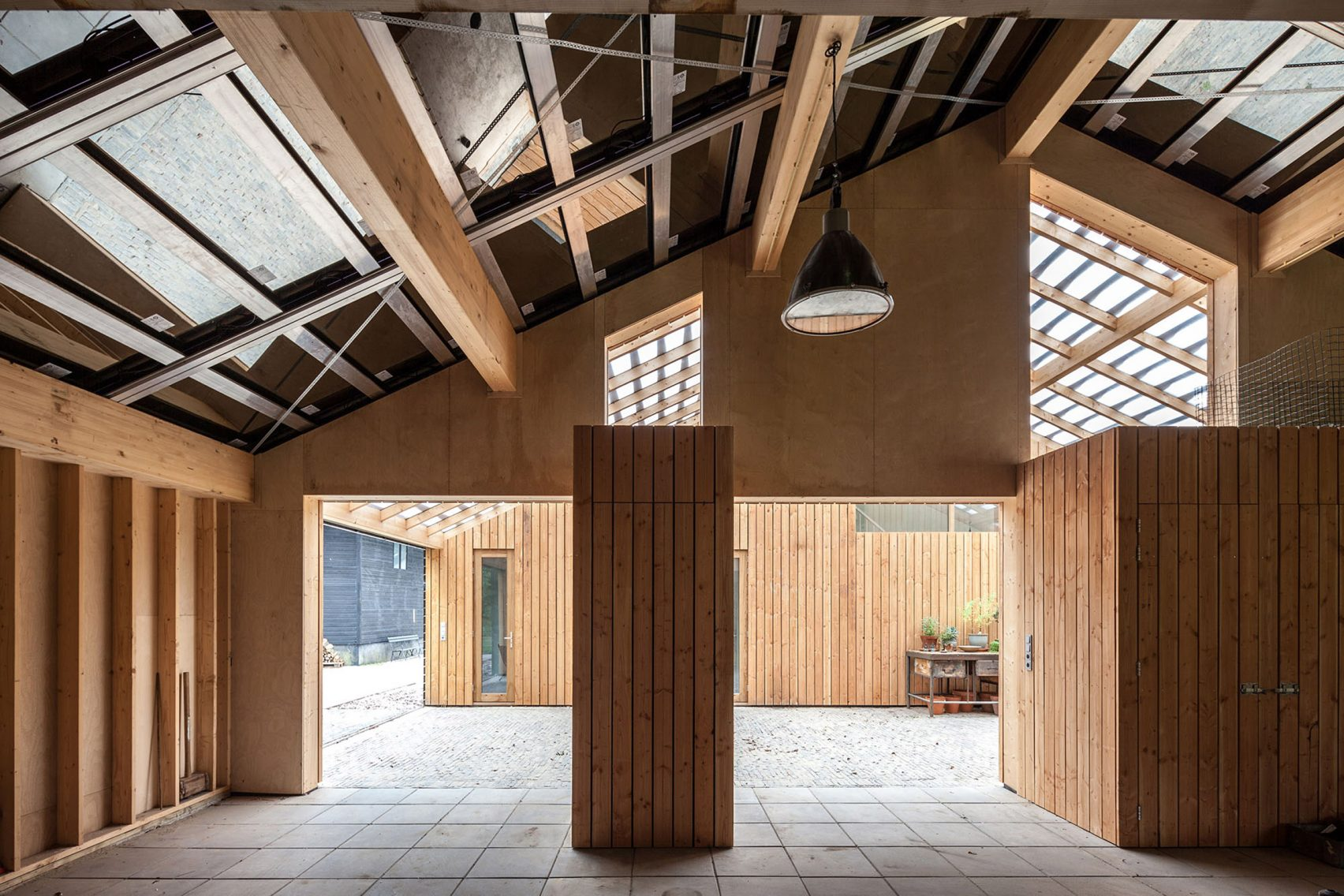 Nhà gỗ cấp 4 hiện đại 2