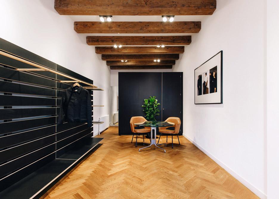 Phòng khách gỗ đẹp 2