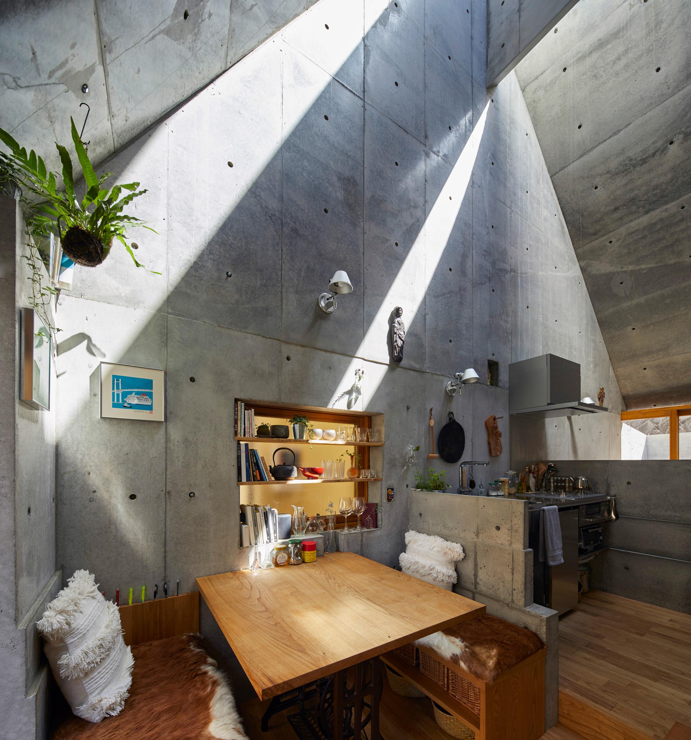 Phòng khách nhà ống 3m 17