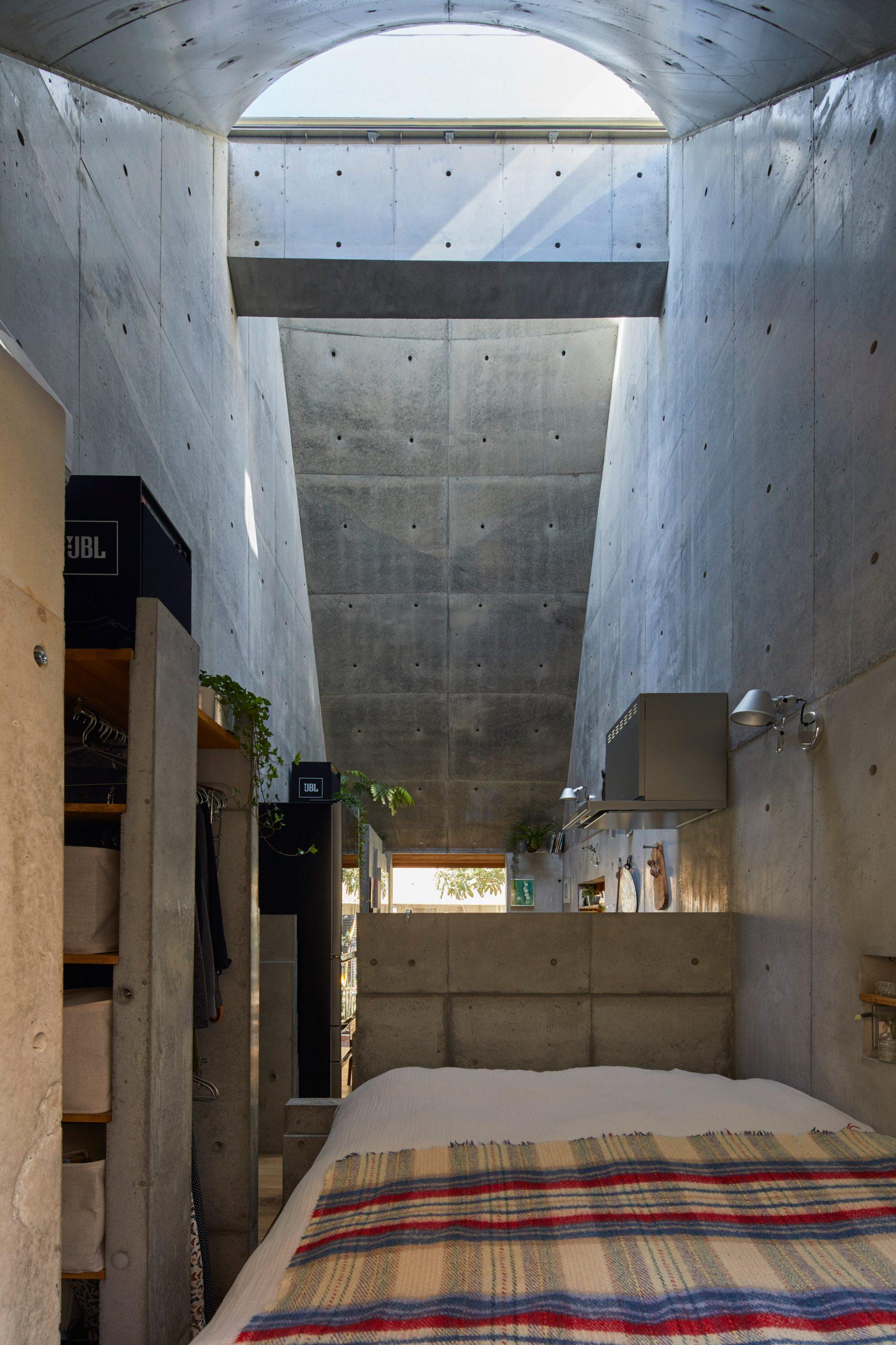Phòng khách nhà ống 3m 5