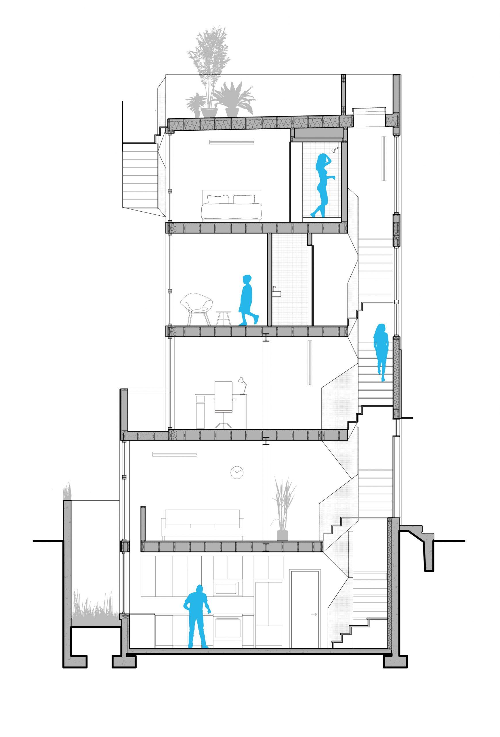 Phòng khách nhà ống hiện đại 10