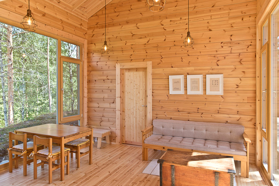 Thi công nhà gỗ Homestay 4