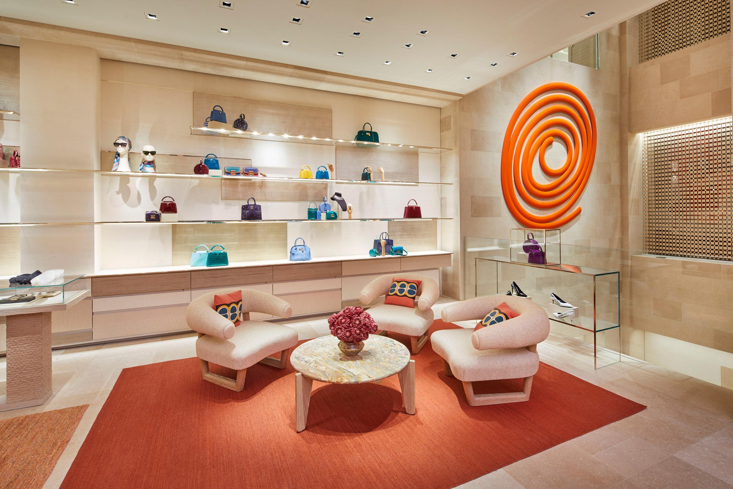 Thiết kế ánh sáng cho cửa hàng thời trang 3