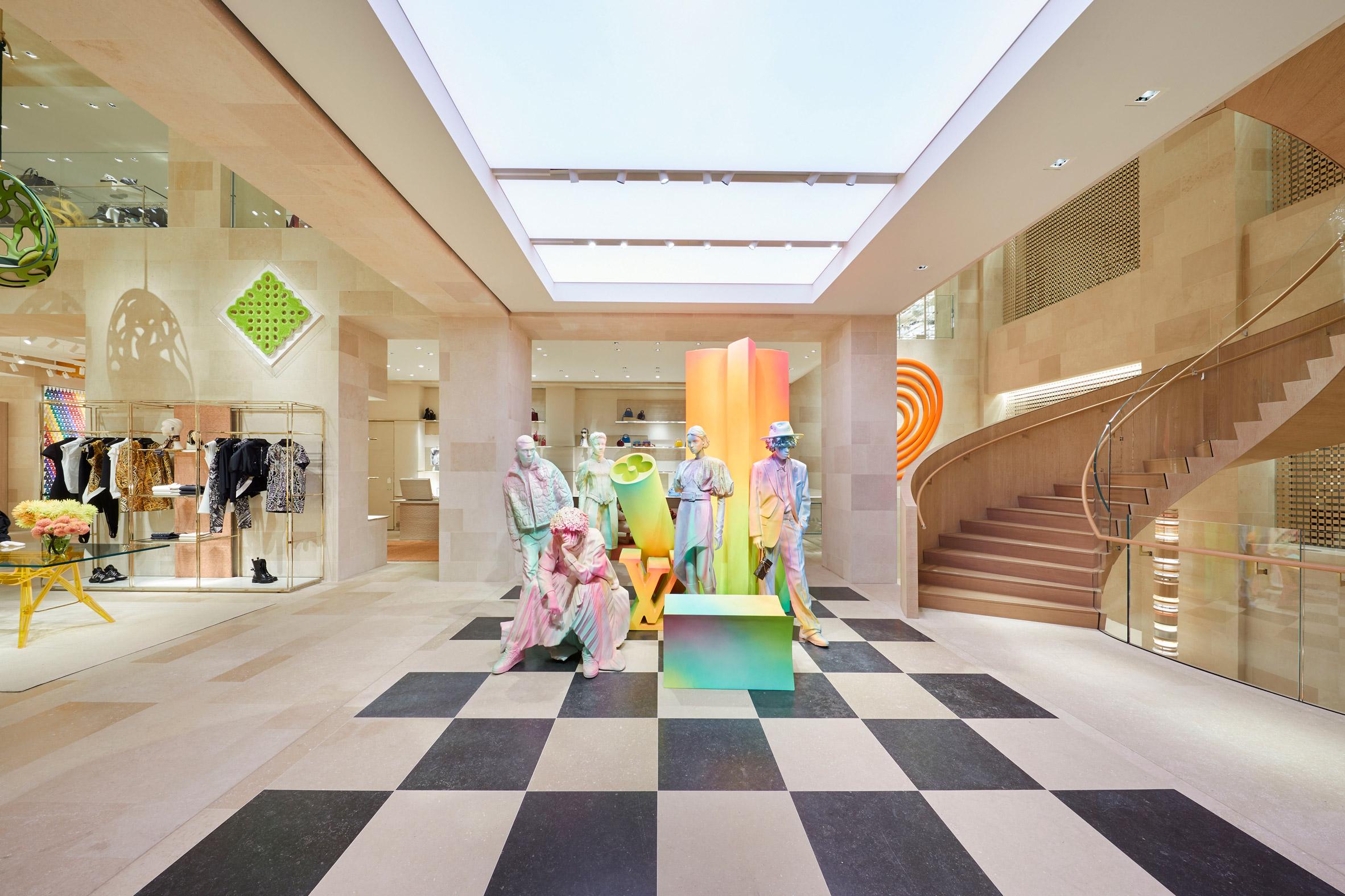 Thiết kế ánh sáng cho cửa hàng thời trang 5