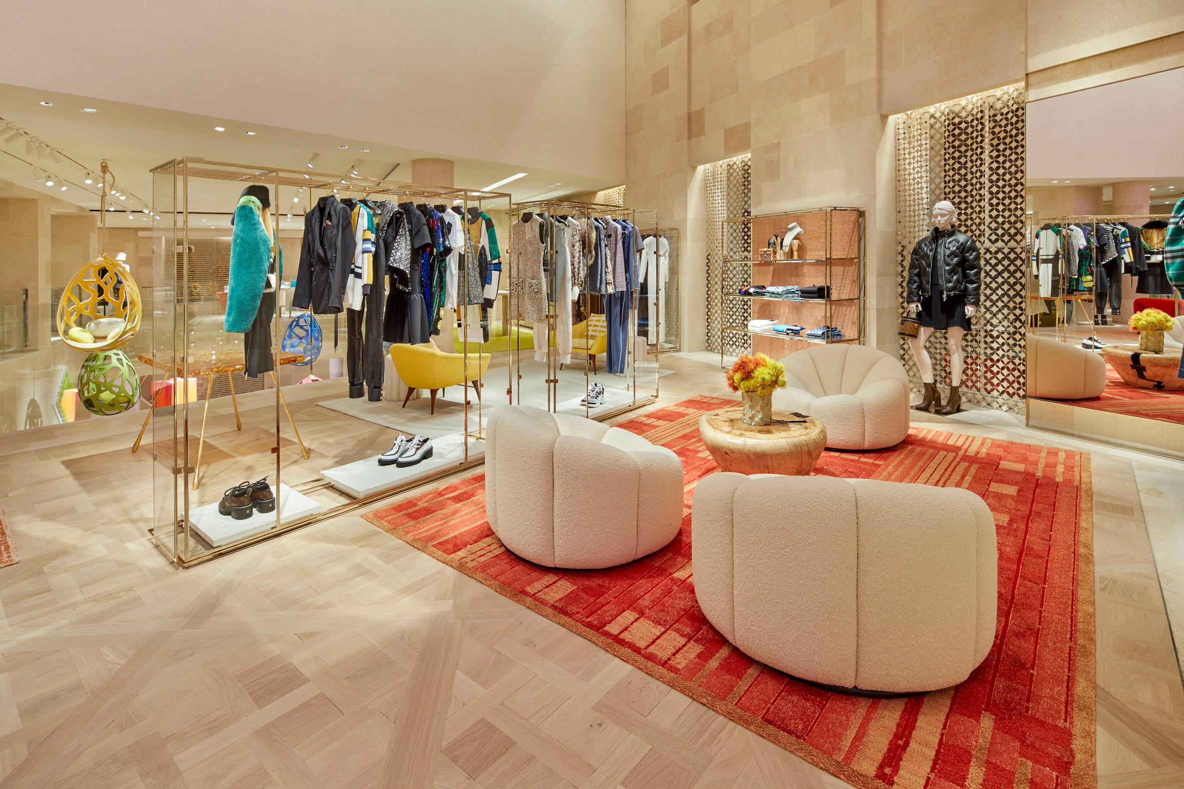 Thiết kế ánh sáng cho cửa hàng thời trang 8