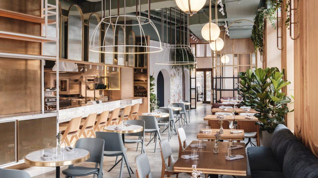 Thiết kế ánh sáng cho quán cafe