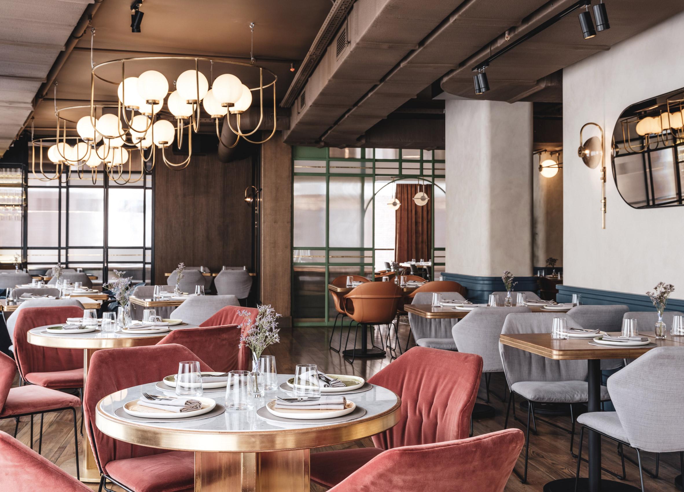 Thiết kế ánh sáng cho quán cafe 2