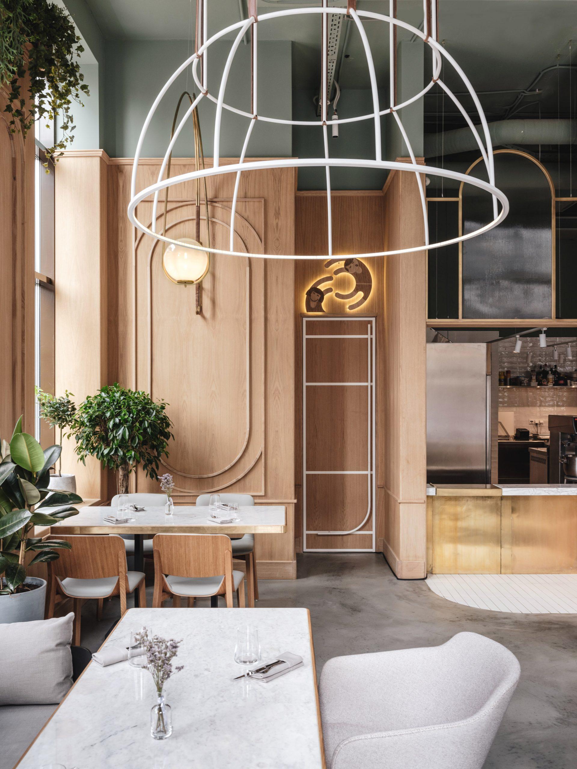 Thiết kế ánh sáng cho quán cafe 3