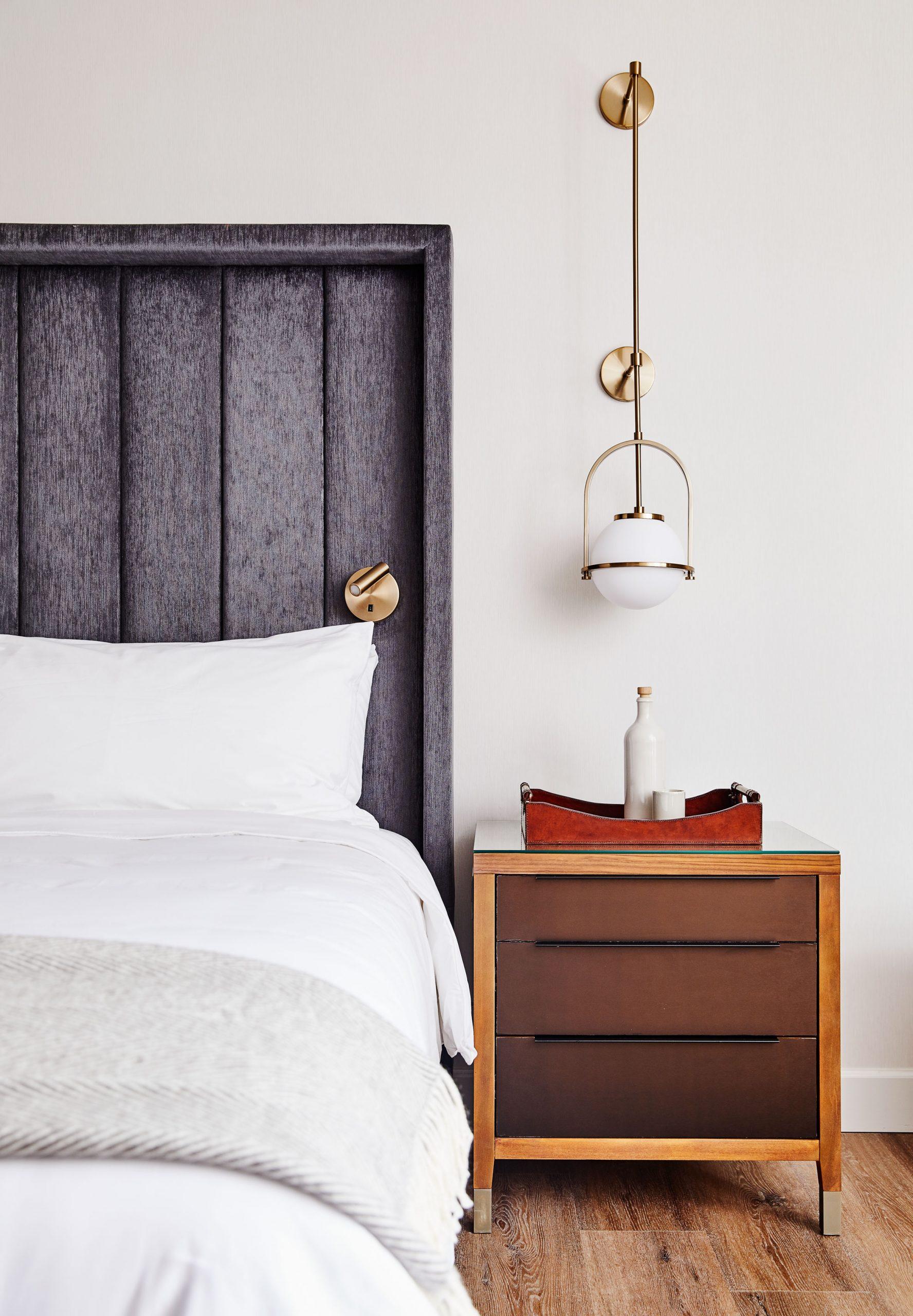 Thiết kế ánh sáng phòng ngủ 1