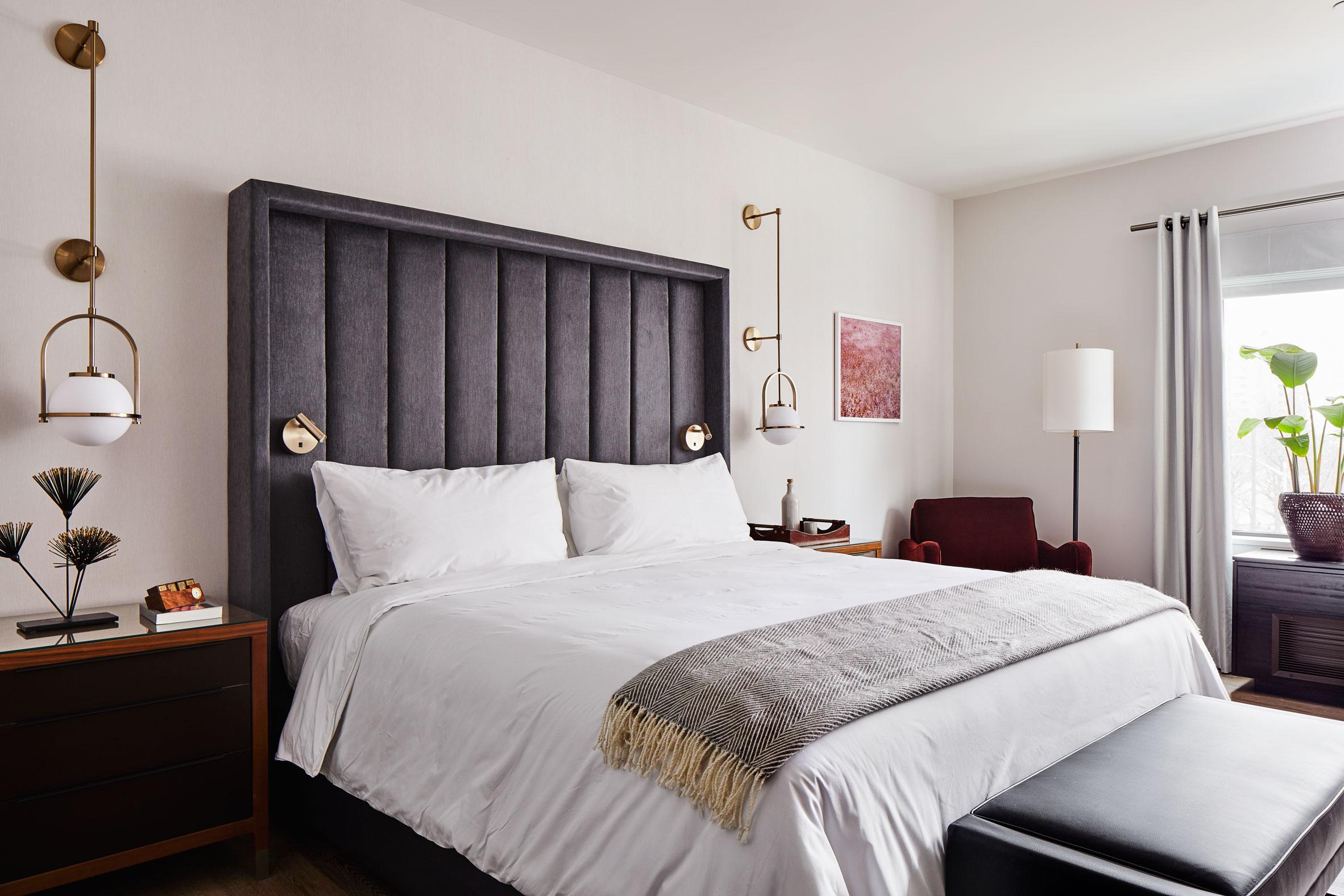 Thiết kế ánh sáng phòng ngủ 2
