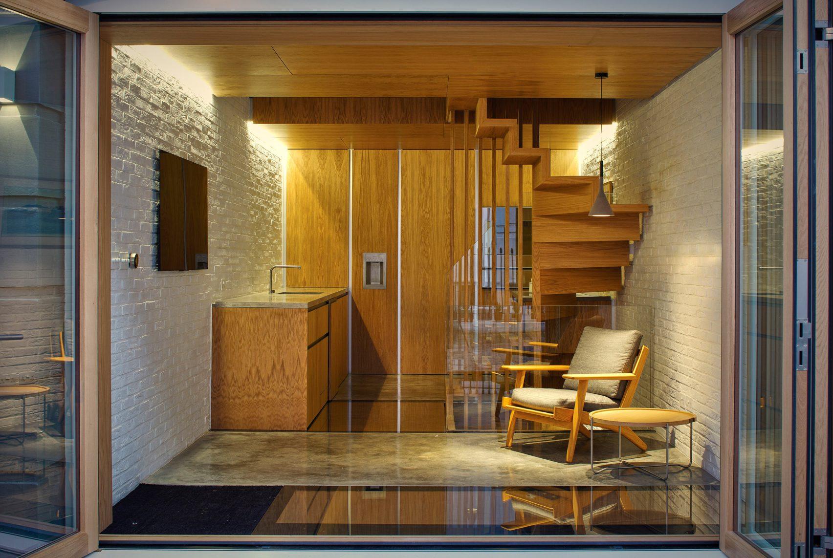 Thiết kế nhà gỗ hiện đại