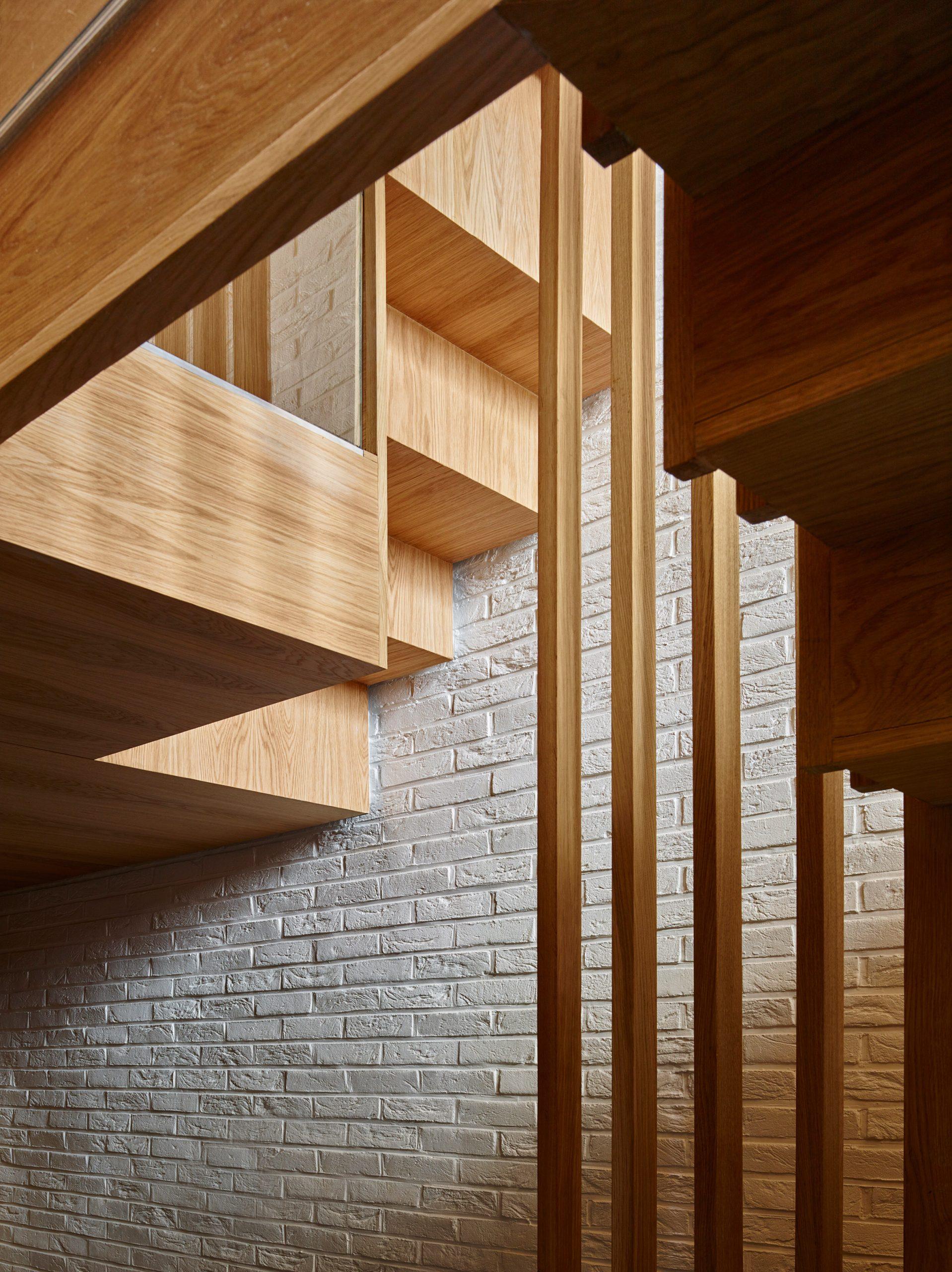 Thiết kế nhà gỗ hiện đại 1