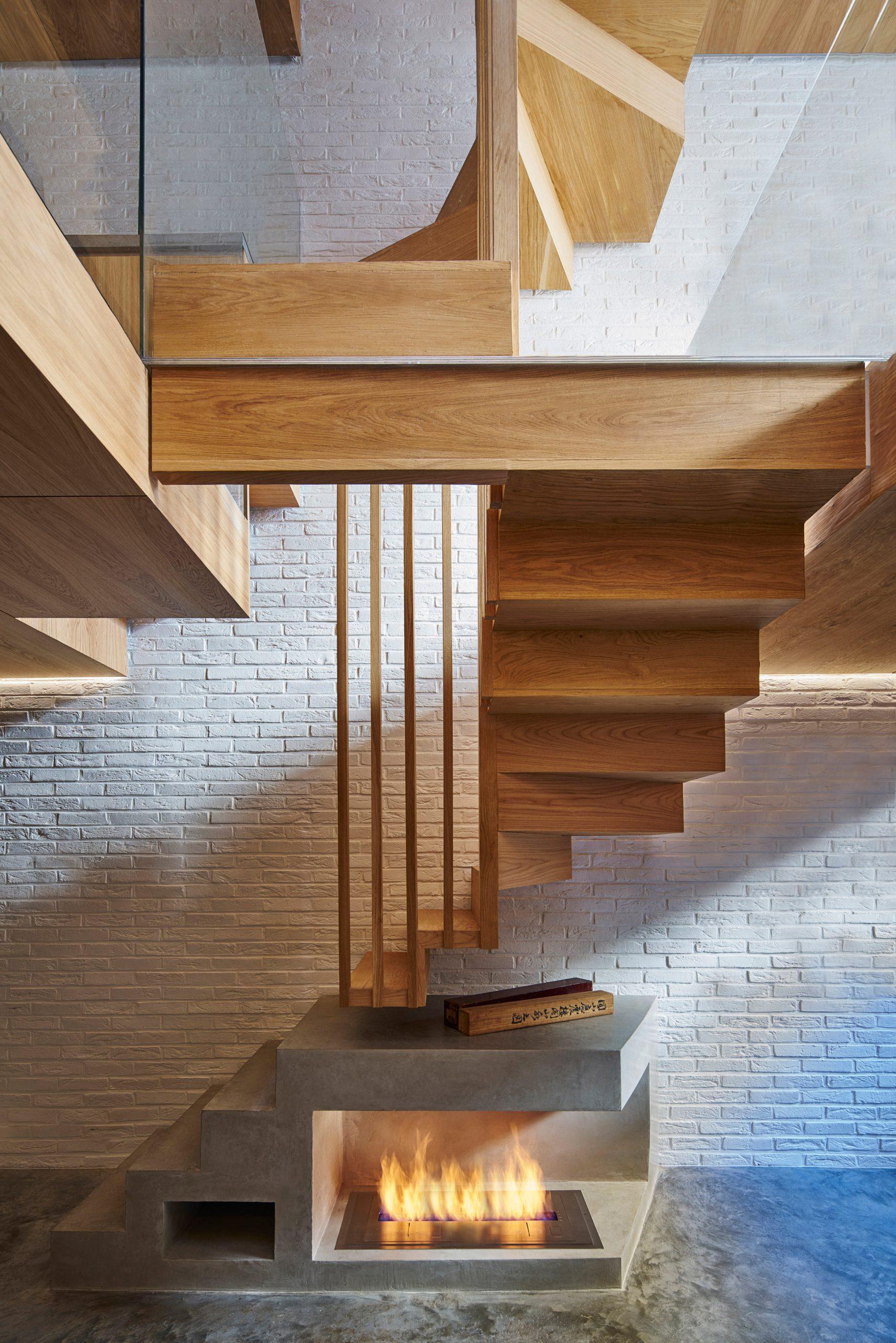 Thiết kế nhà gỗ hiện đại 3