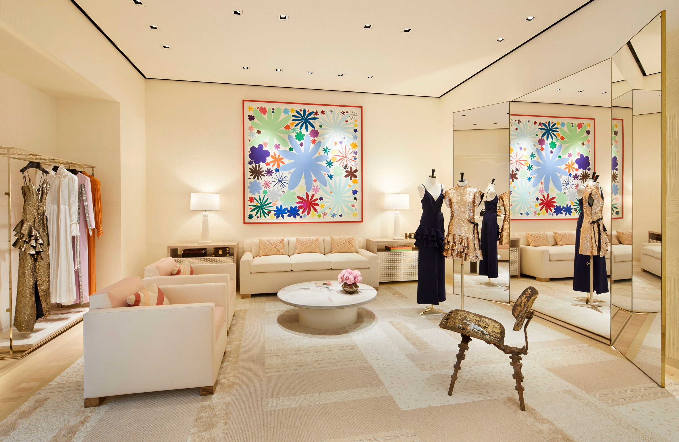 Thiết kế nội thất shop thời trang 8