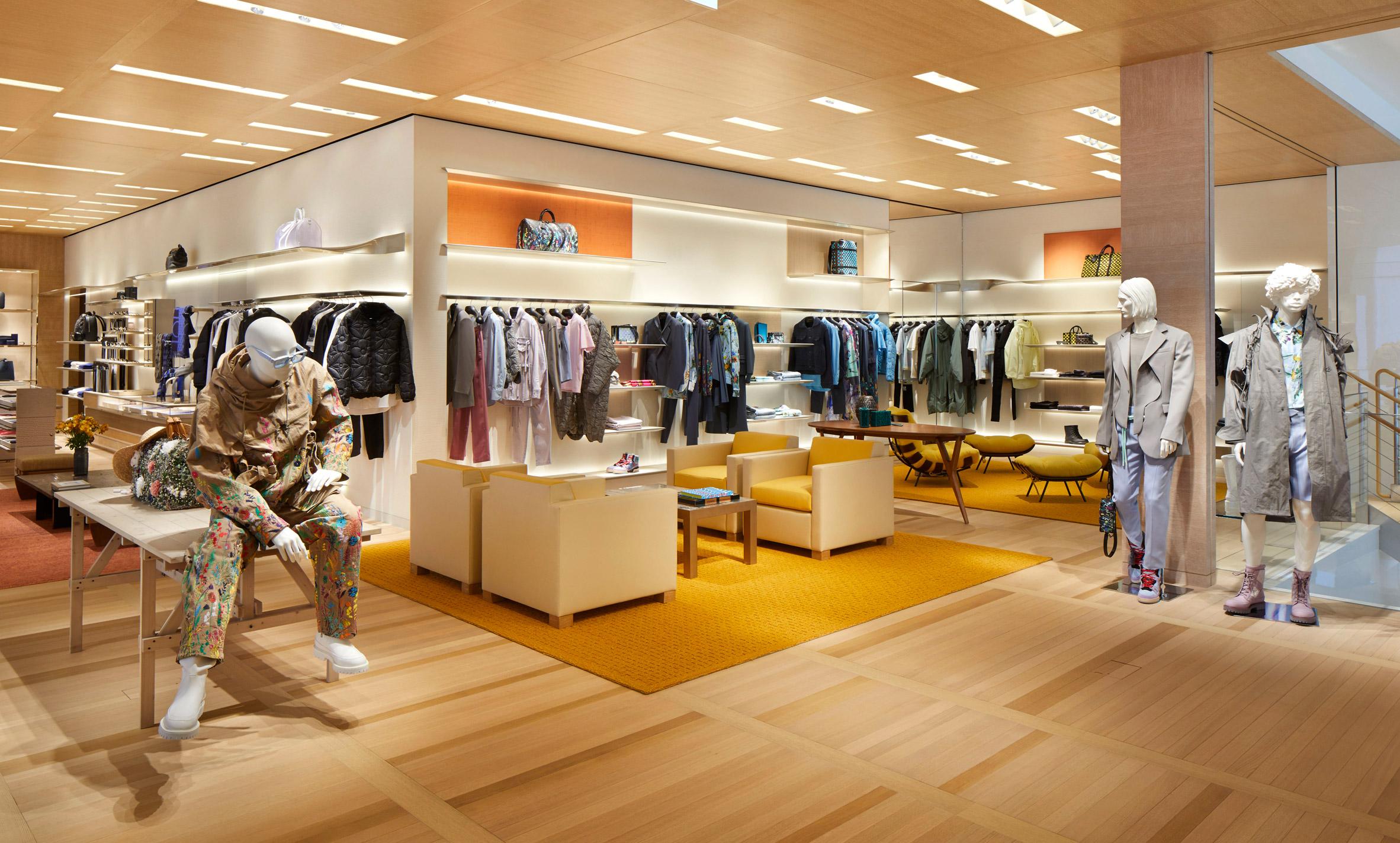 Thiết kế nội thất shop thời trang 9