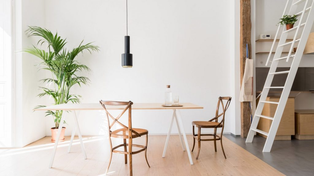 Thiết kế phòng khách chung cư đơn giản