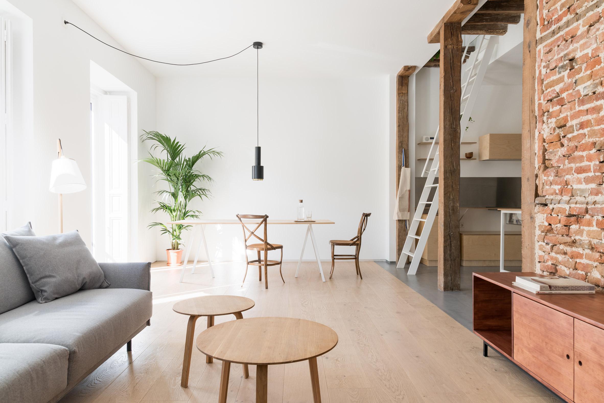 Thiết kế phòng khách chung cư đơn giản 1