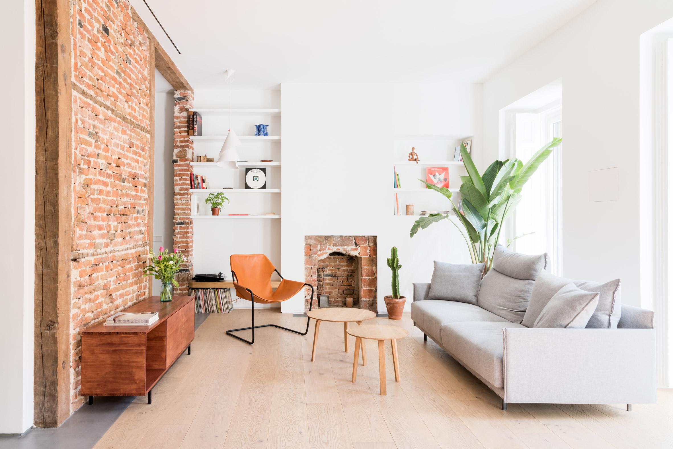 Thiết kế phòng khách chung cư đơn giản 2