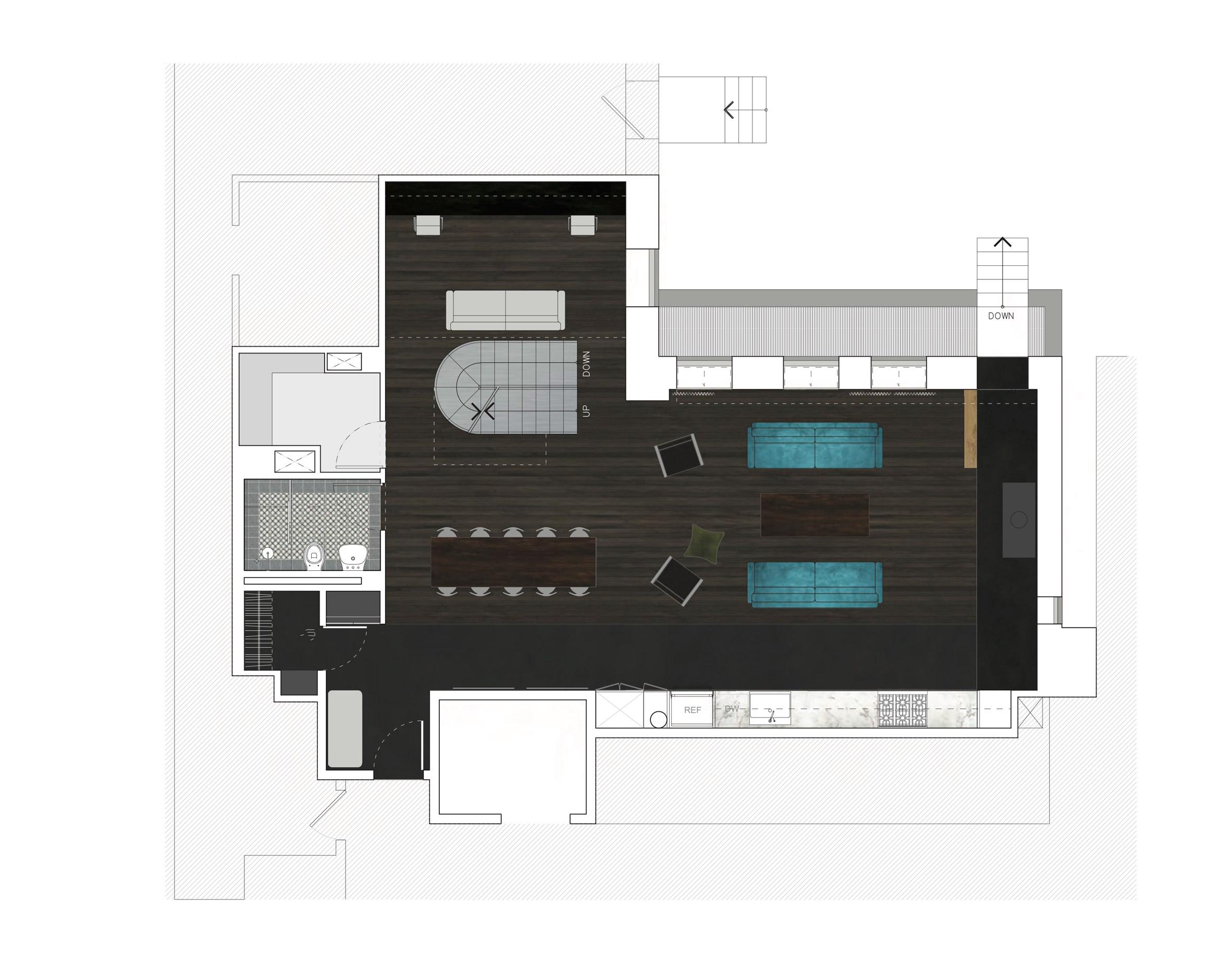 Trang trí phòng khách chung cư 9