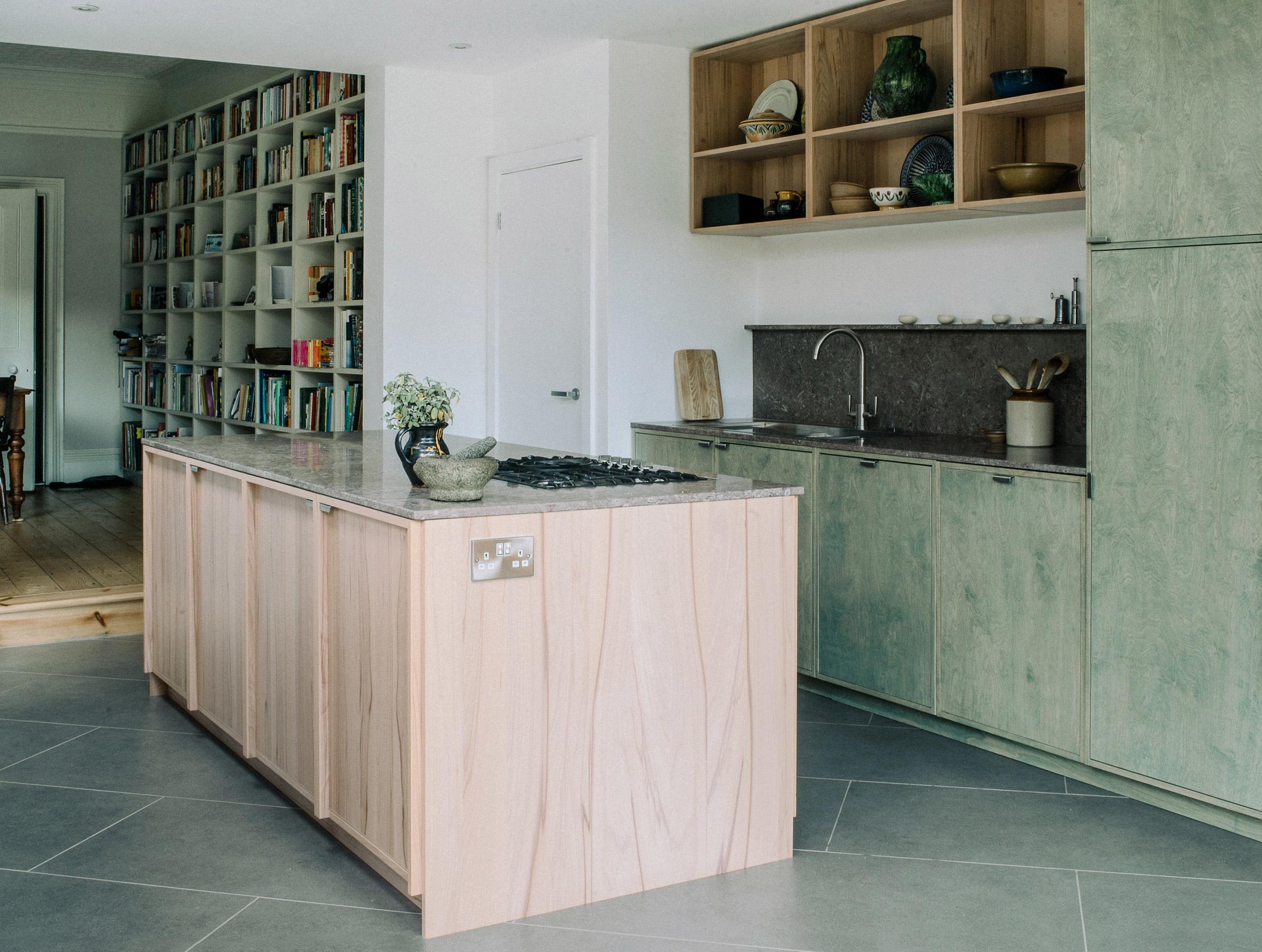 Mẫu tủ bếp đẹp 8