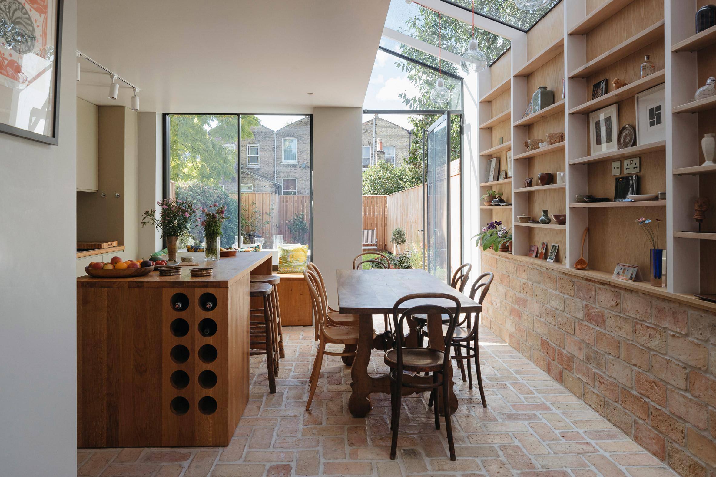 Mẫu tủ bếp đẹp bằng gỗ 19
