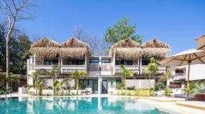 Phong cách thiết kế sân vườn Resort đẹp ngỡ ngàng