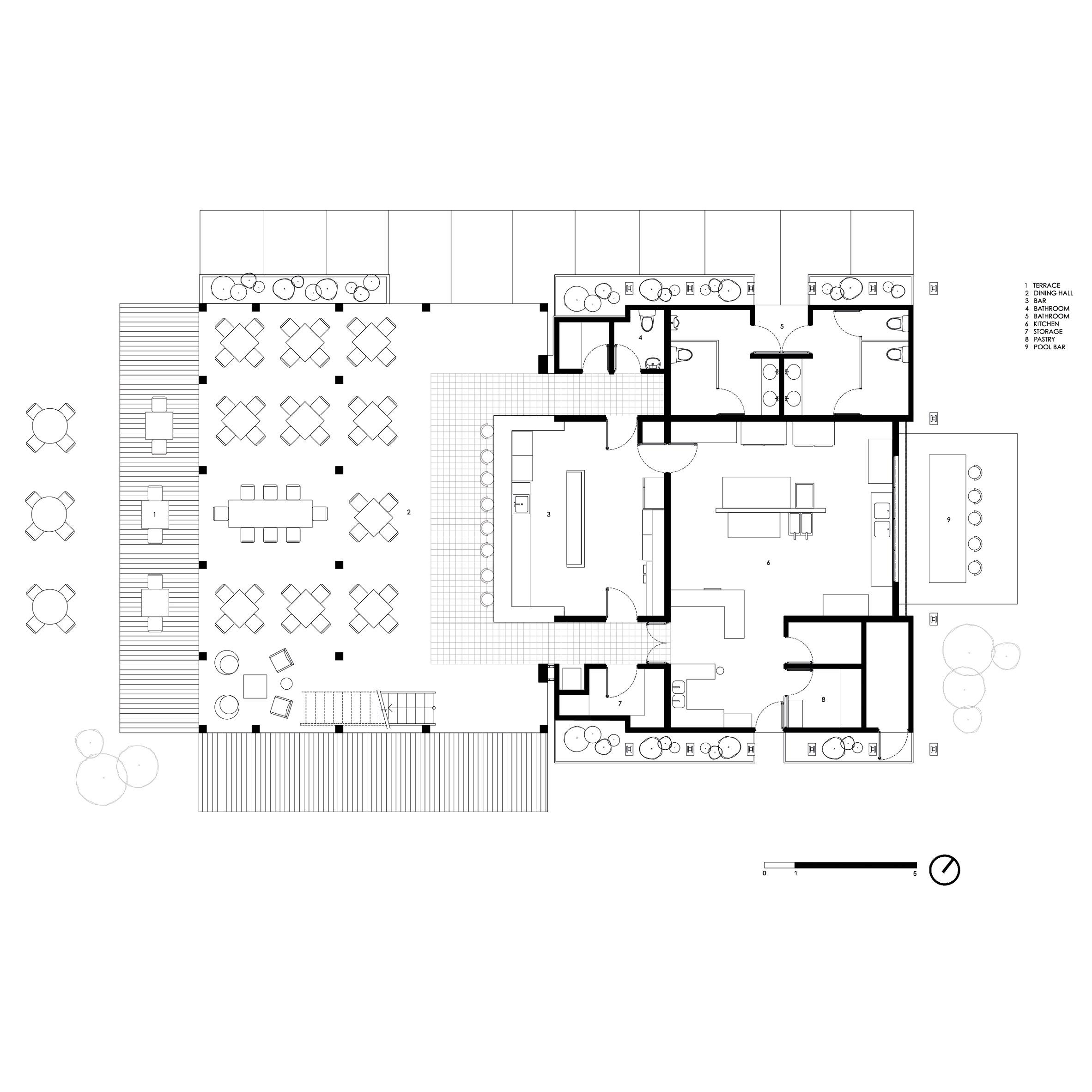 Thiết kế sân vườn Resort 11