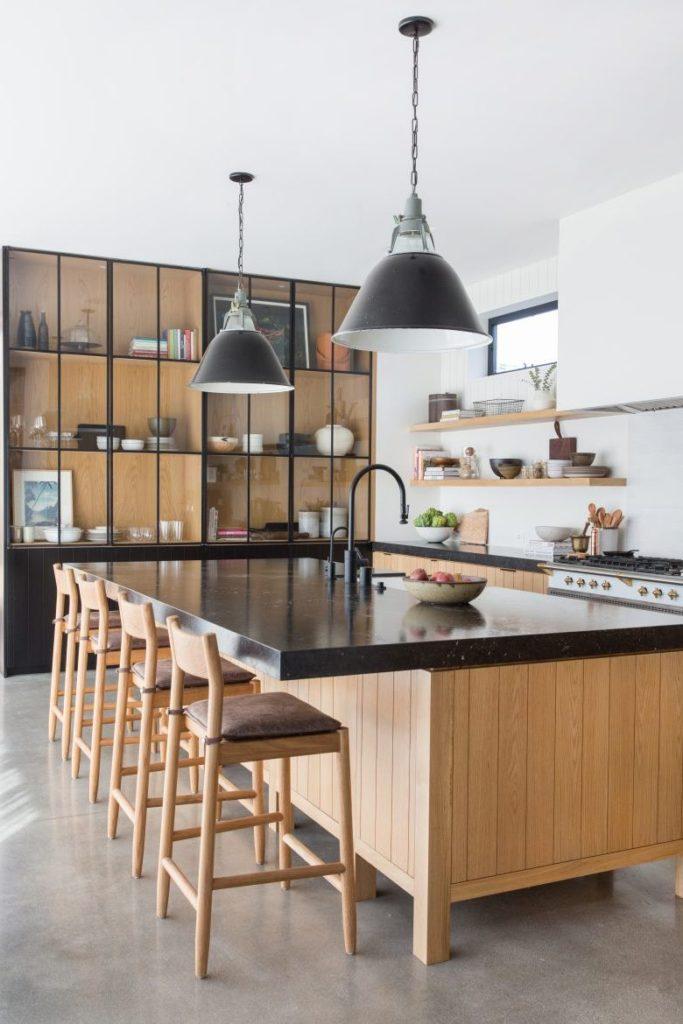 Tủ bếp đẹp hình chữ L 1