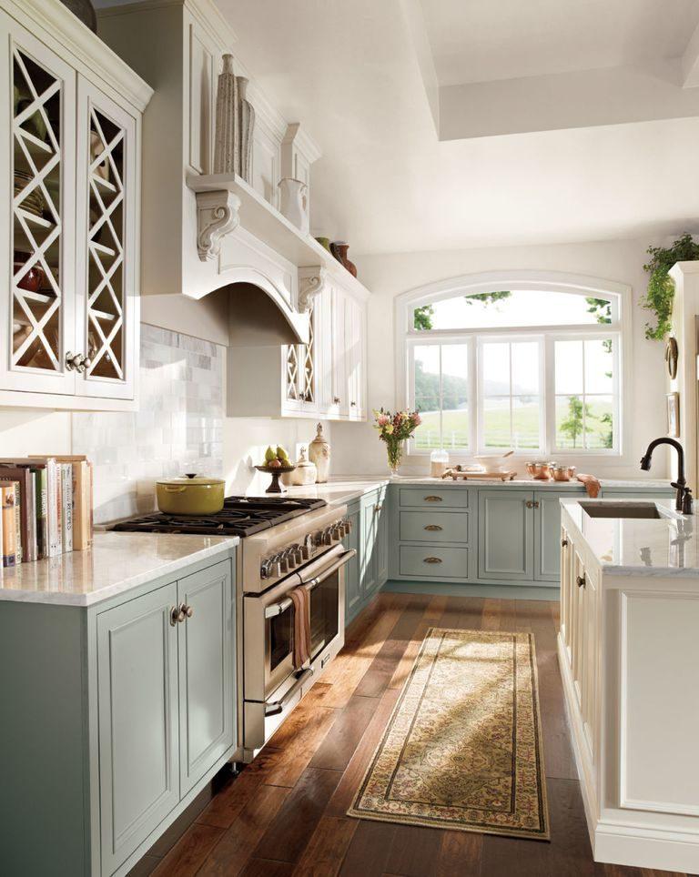 Tủ bếp đẹp hình chữ L 11