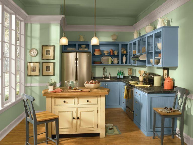 Tủ bếp đẹp hình chữ L 12