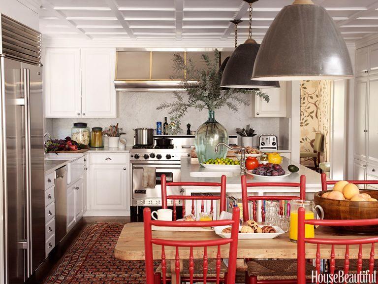 Tủ bếp đẹp hình chữ L 14