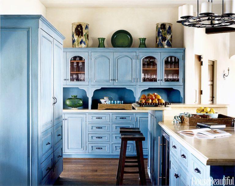 Tủ bếp đẹp hình chữ L 15