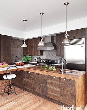 Tủ bếp đẹp hình chữ L 16