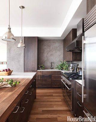 Tủ bếp đẹp hình chữ L 17