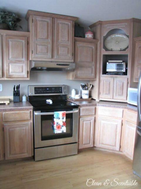 Tủ bếp đẹp hình chữ L 19